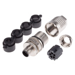 Harting IDC Connector, 5 Contacts, Panel Mount M12, IP65, IP67