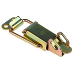 Steel,Lockable, Lock not included Latch