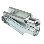 RS PRO Steel M6 x 1 Clevis, 43mm x 12mm