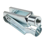 RS PRO Steel M8 x 1.25 Clevis, 58mm x 32mm