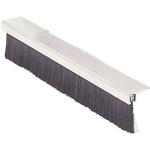 RS PRO Aluminium, Nylon Black Brush Strip, 45mm x 7.9 mm x 7.6mm