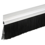 RS PRO Aluminium, Nylon Black Brush Strip, 60mm x 13.6 mm x 12.1mm
