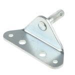 RS PRO Steel 90° Mounting Bracket, 70mm x 24.5mm