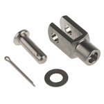 RS PRO Stainless Steel M6 x 1 Clevis, 31mm x 12mm