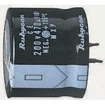 Rubycon 1000μF Electrolytic Capacitor 200V dc, Through Hole - 200MXG1000MEFCSN30X30