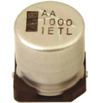Rubycon 1000μF Electrolytic Capacitor 25V dc, Surface Mount - 25TLV1000M12.5X13.5
