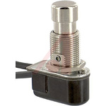Carling Technologies Single Pole Single Throw (SPST) Latching Push Button Switch, 12.7 (Dia.)mm, Panel Mount, 250V ac