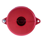 Brady 6.5mm Shackle PP Gate Valve Lockout, 127mm Attachment Point- Red