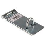 RS PRO Steel Hasp & Staple, 153mm, 8mm
