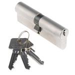 ABUS Brass Euro Cylinder Lock, 45 x 45 mm (61mm)