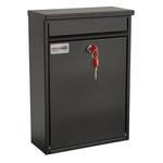 Post Box Std, Front Load,Black