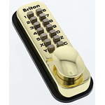 Brass Mechanical Polished Code Lock