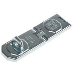 ABUS Steel Hasp & Staple, 155 x 45mm, 12.5mm