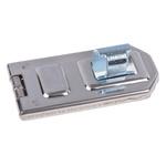 ABUS Steel Galvanised Hasp & Staple, 120 x 56mm, 12.5mm