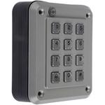 8888 Chromed Zinc Keypad Lock With Audible Tone & LED Indicator