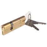 Vachette Brass Euro Cylinder Lock, 60 x 30 mm