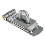 RS PRO Steel Hasp & Staple, 203 x 44mm