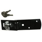 Squire Steel Hasp & Staple, 6.5mm