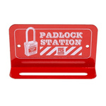 6 Padlock Lockout Station