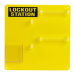 10 Padlock Lockout Station