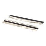 Stelvio Kontek, 472, 40 Way, 1 Row, Right Angle Pin Header