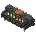 Samtec, LSHM Razor Beam, 40 Way, 2 Row, Right Angle PCB Header