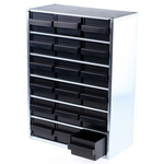 Raaco 18 Drawer ESD Cabinet