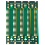 96 Way DIN 41612 Eurocard Motherboard FR4 Double Sided 95.7mm 20.32mm(4HP)