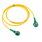 Connecting ESD Grounding Cord 10mm, 1m Straight