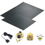 Floor, Worksurface Set of 2 ESD-Safe Mats, 1.2 (Worksurface Mat) m, 2.4 (Floor Mat) m x 0.6 (Worksurface Mat) m, 1.2