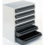 Raaco 6 Drawer ESD Cabinet