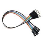 4128-40, 200mm Jumper Wire Breadboard Jumper Wire in Black, Blue, Red, White, Yellow