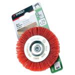Tivoly Nylon Circular Abrasive Brush, 75mm Diameter
