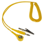 Connecting ESD Grounding Cord 10mm, 1.8m Coiled