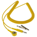 Connecting ESD Grounding Cord 10mm, 3.6m Coiled