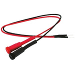 SUP-200, 200mm Insulated Tinned Copper Breadboard Jumper Wire in Black, Red