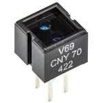 CNY70 Vishay, Through Hole Reflective Sensor, Phototransistor Output