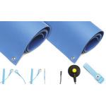 Blue Bench ESD-Safe Mat Kit, 2.4m x 1.2m x 3mm