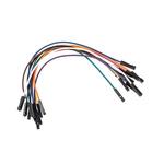 MIKROE-511, 10 piece Breadboard Jumper Wire Kit