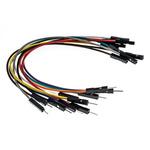 MIKROE-512, 10 piece Breadboard Jumper Wire Kit