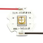 ILH-XQ01-S410-SC211-WIR200. Intelligent LED Solutions, N5050 1 Powerstar Series UV LED, 420nm 1400mW 135 °, 4-Pin