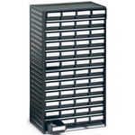 RS PRO 48 Drawer ESD Cabinet, 550 x 310 x 180mm