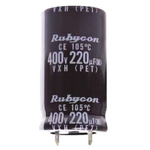 Rubycon 1000μF Electrolytic Capacitor 315V dc, Through Hole - 315VXH1000MEFCSN35X50