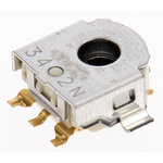 Alps Alpine 12 Pulse Incremental Mechanical Rotary Encoder with a 2.2 mm Hollow Shaft (Not Indexed)
