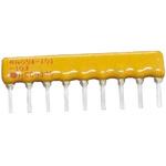 Bourns 4600X Series 15kΩ ±2% Bussed Through Hole Resistor Array, 8 Resistors, 1.13W total SIP package