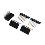 Development Kit Pmod Female Right Angle 6-pin Header for use with Breadboard