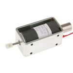 Mecalectro Linear Solenoid, 12 V dc, 2 → 8N, 57.7 x 32 x 25.4