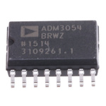 Analog Devices ADM3054BRWZ, CAN Transceiver ISO 11898, 16-Pin SOIC