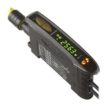 Banner Plastic Fibre Optic Sensor, PNP Output, IP50, 15 → 24 V dc