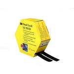 3M Dual Lock™ SJ354D Black Hook & Loop Tape, 25mm x 5m